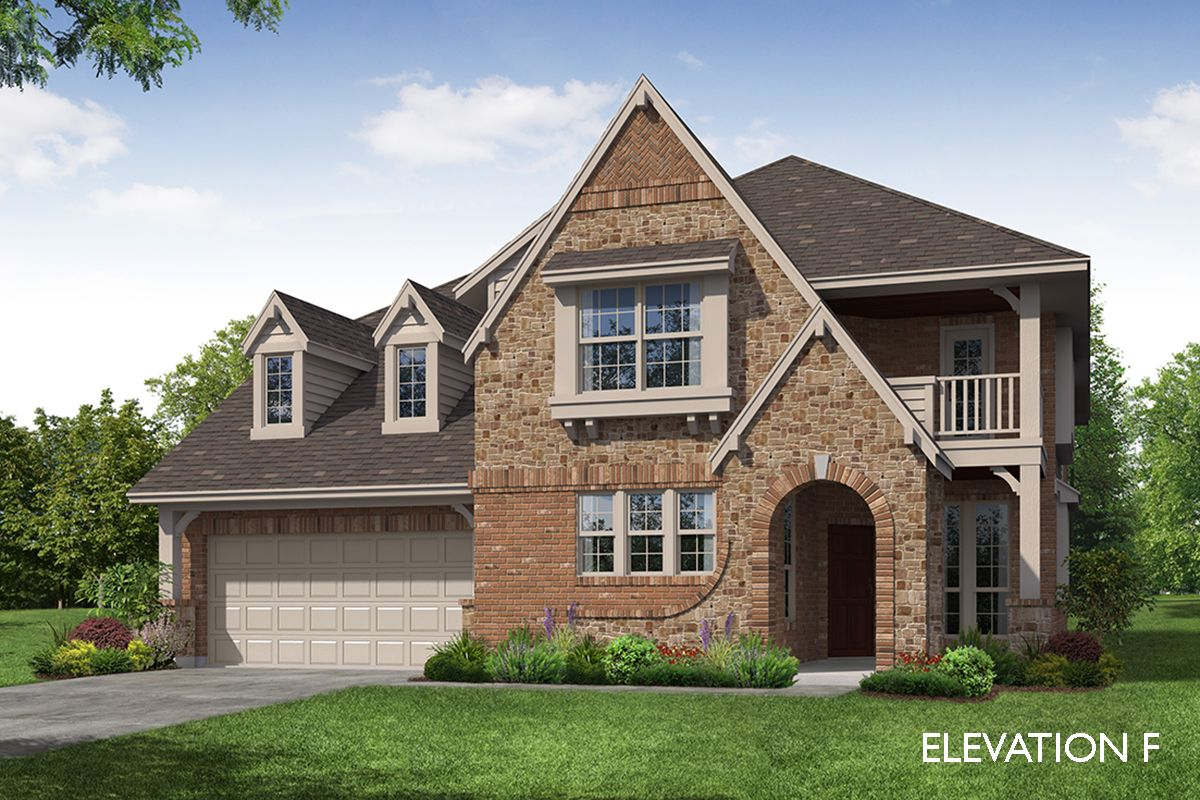 Exterior featured in the Magnolia II By Bloomfield Homes in Dallas, TX