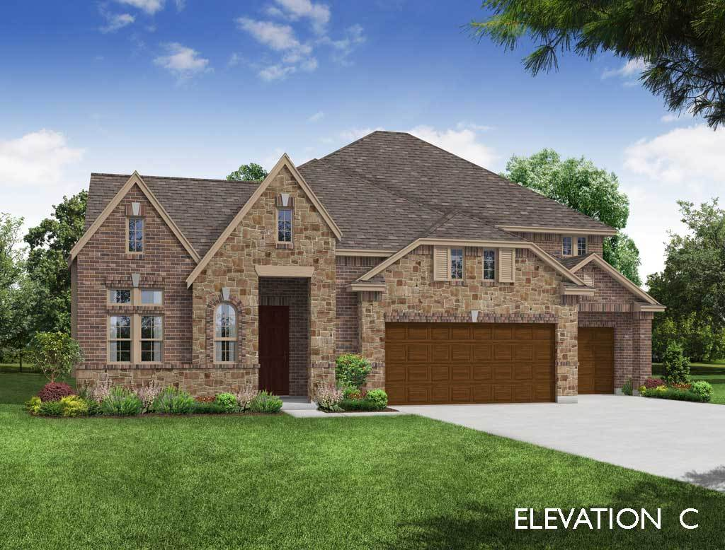 Exterior featured in the Primrose FE VI By Bloomfield Homes in Dallas, TX