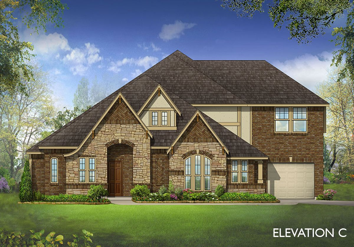 Exterior featured in the Primrose V By Bloomfield Homes in Dallas, TX