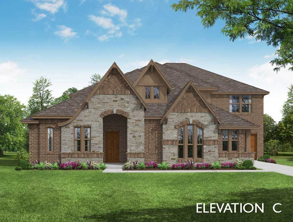 Exterior featured in the Primrose VI By Bloomfield Homes in Dallas, TX