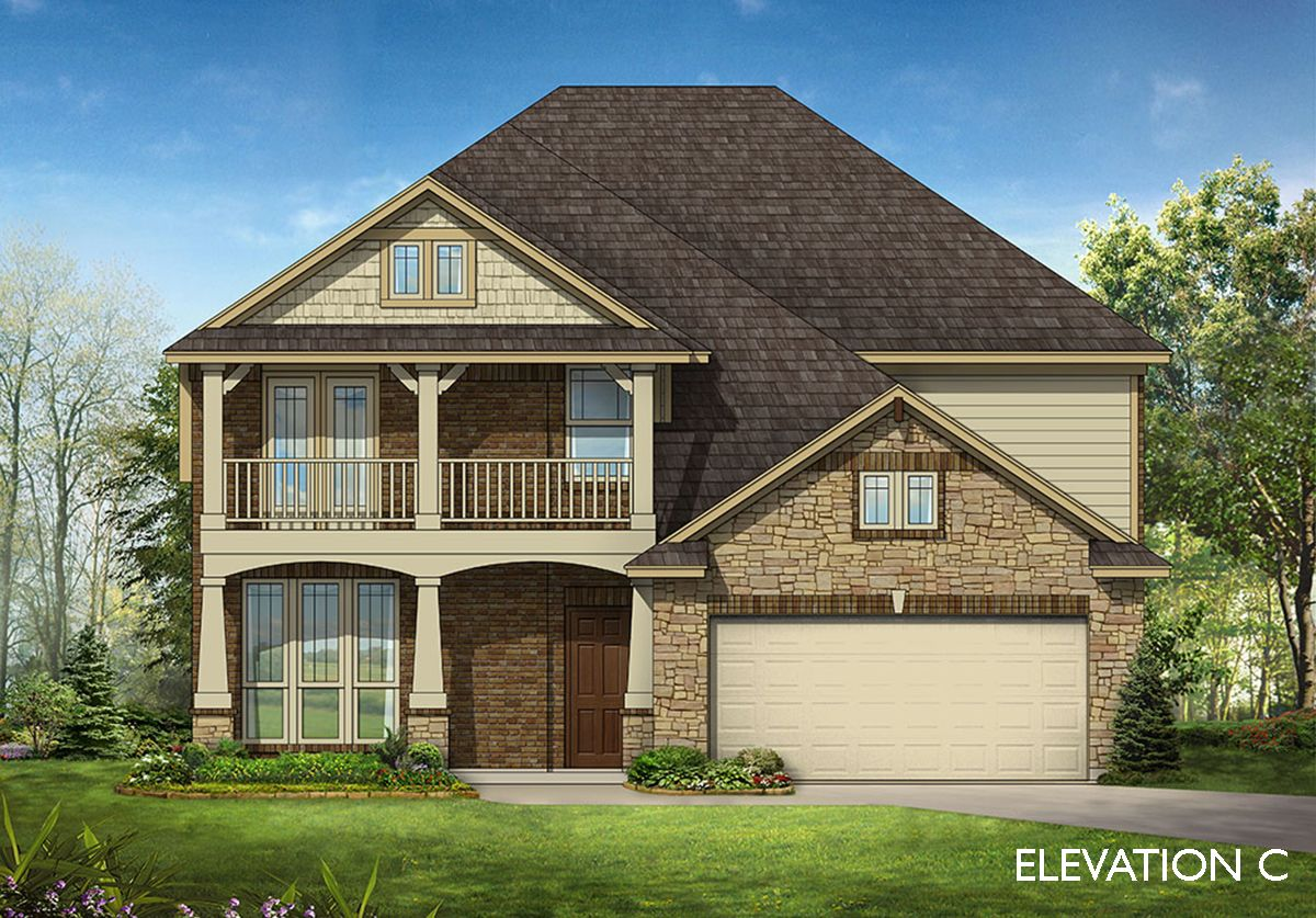 Exterior featured in the Wisteria By Bloomfield Homes in Dallas, TX