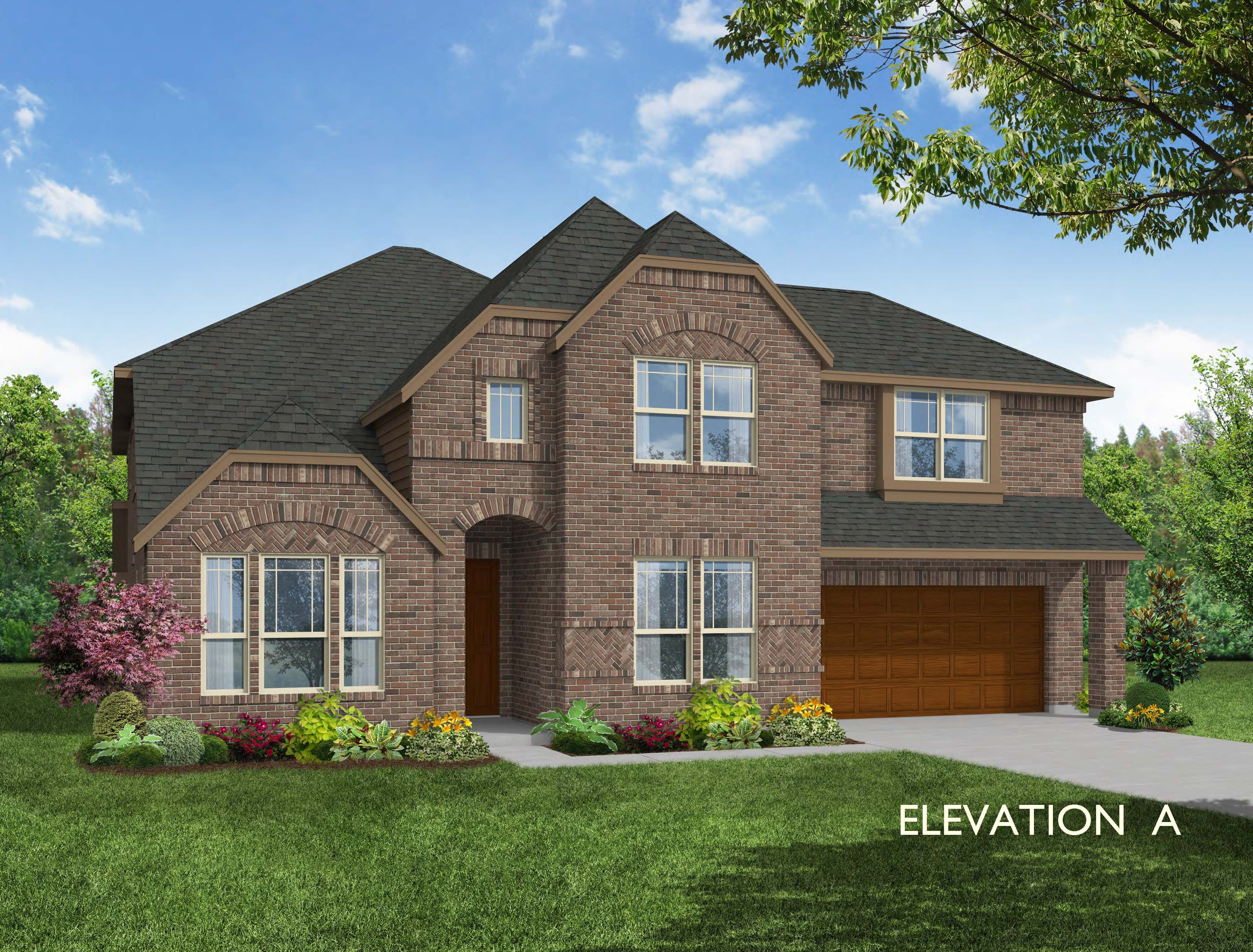 Exterior featured in the Bellflower By Bloomfield Homes in Dallas, TX