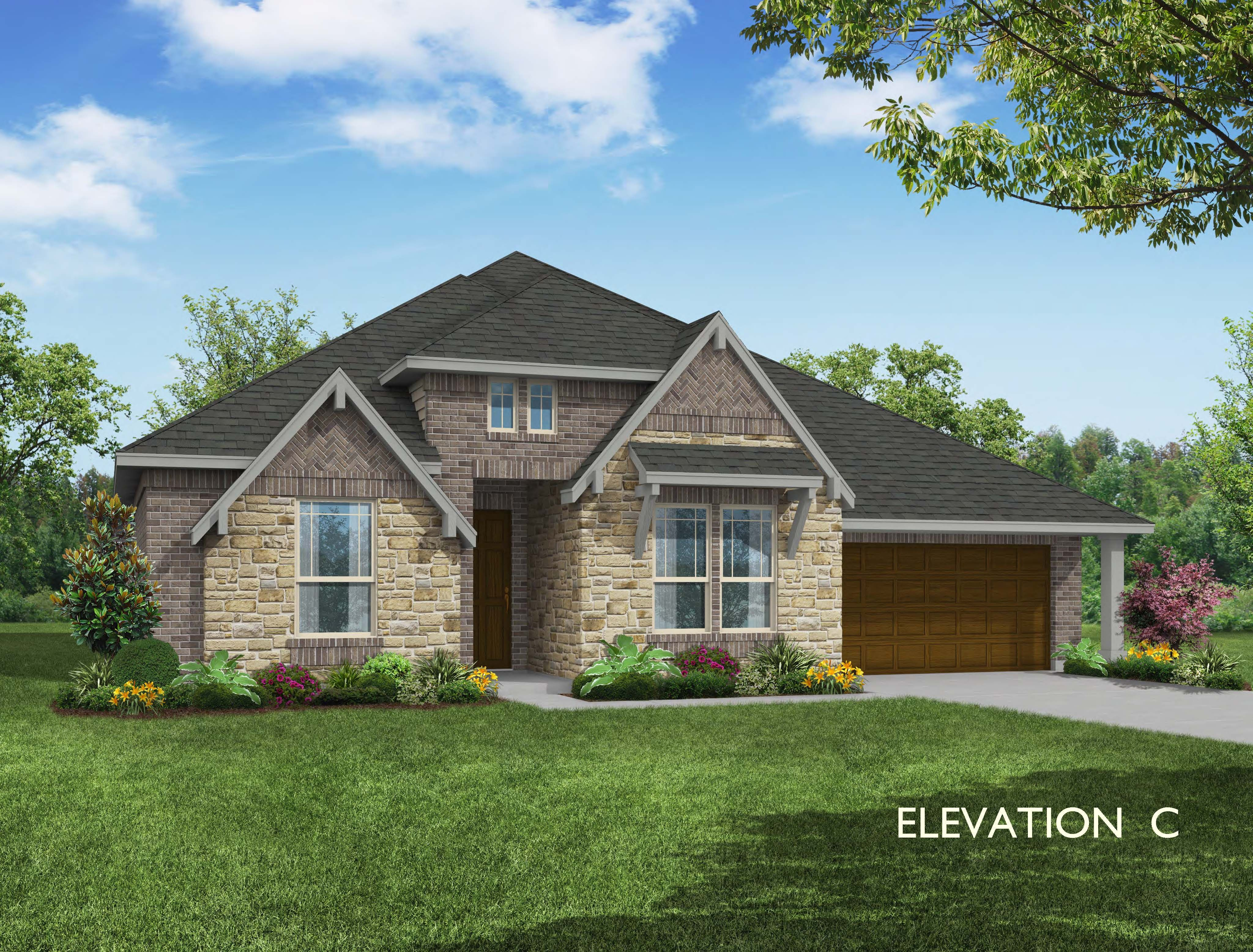 Exterior featured in the Caraway By Bloomfield Homes in Dallas, TX