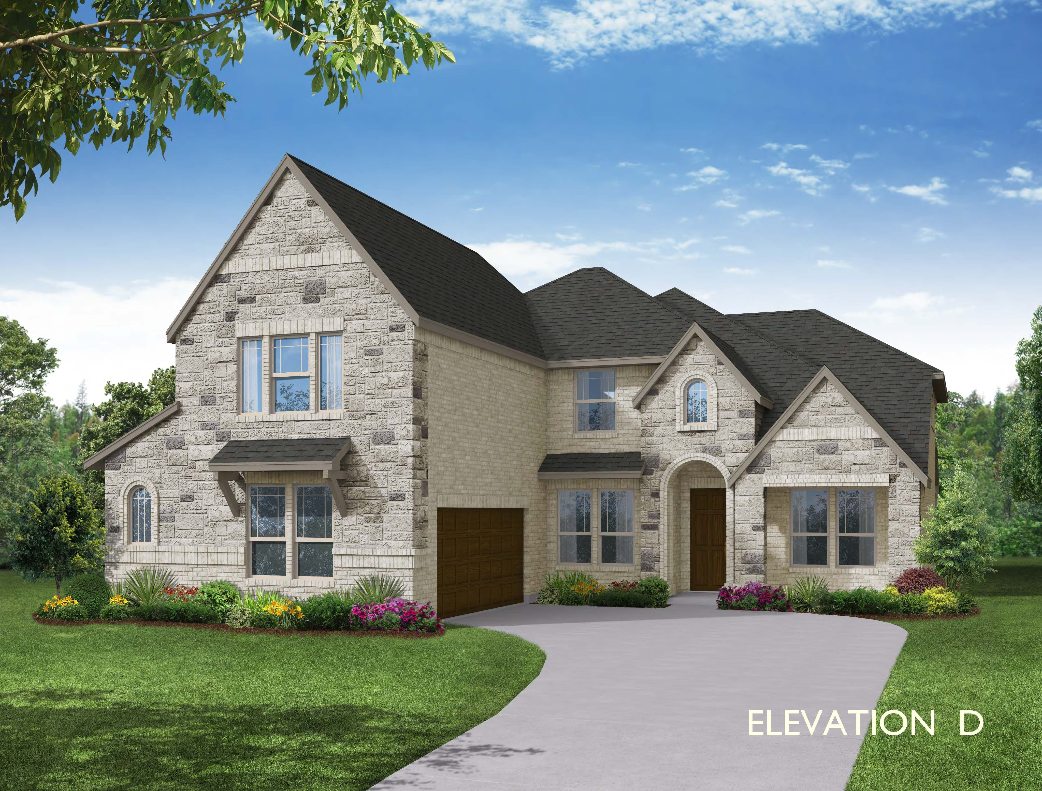Exterior featured in the Spring Cress By Bloomfield Homes in Dallas, TX