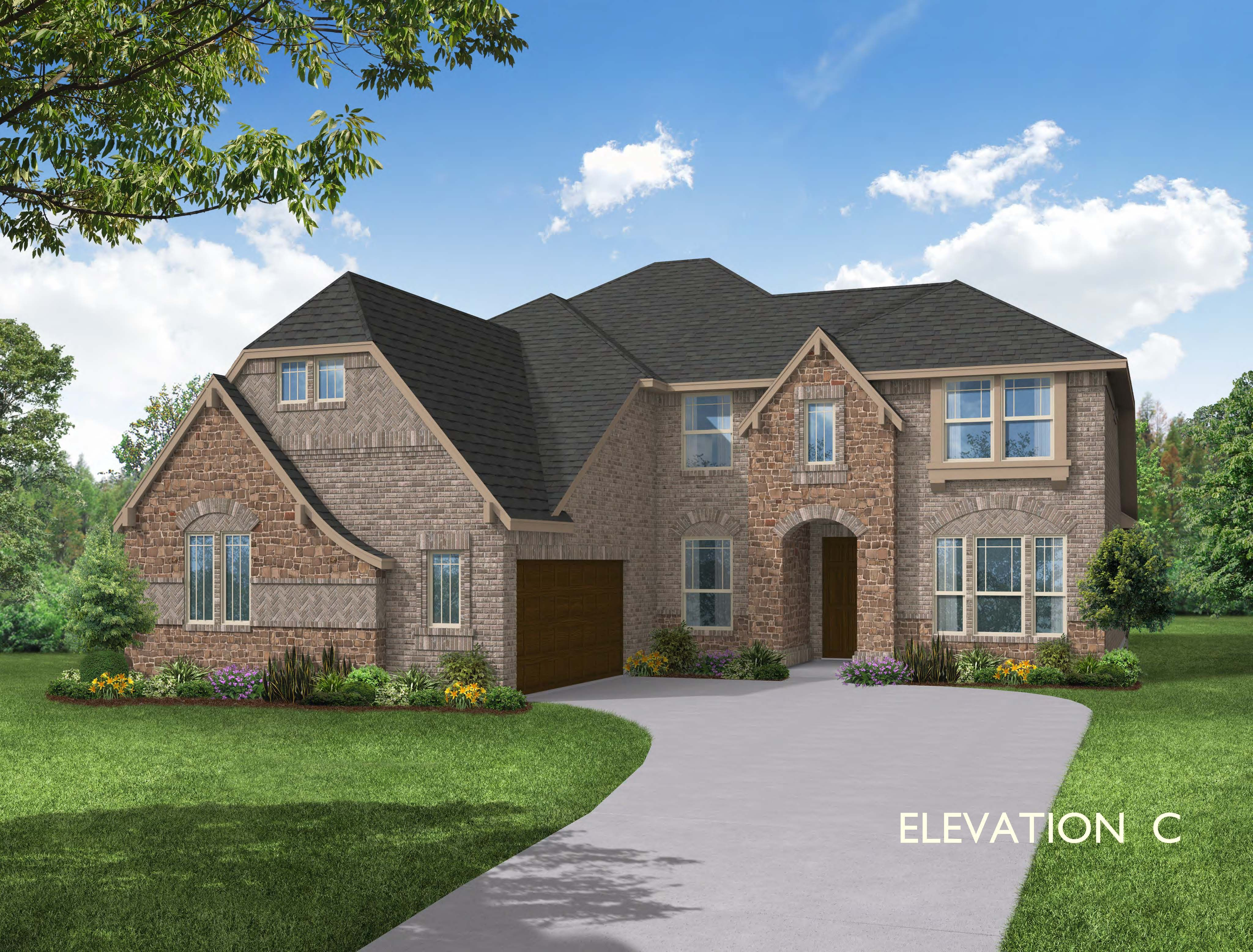 Exterior featured in the Seaberry By Bloomfield Homes in Dallas, TX