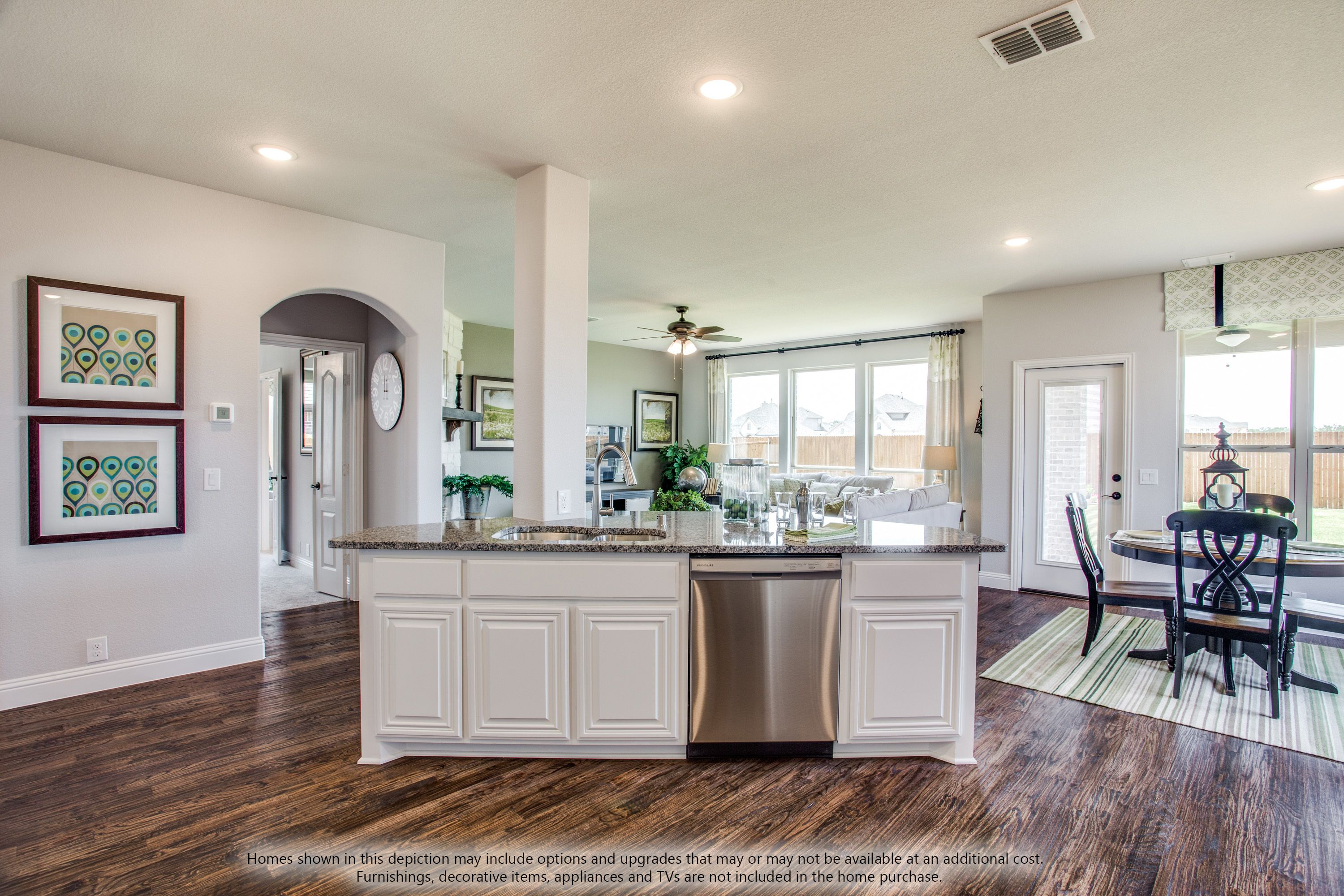 Kitchen featured in the Dewberry II Side Entry By Bloomfield Homes in Dallas, TX