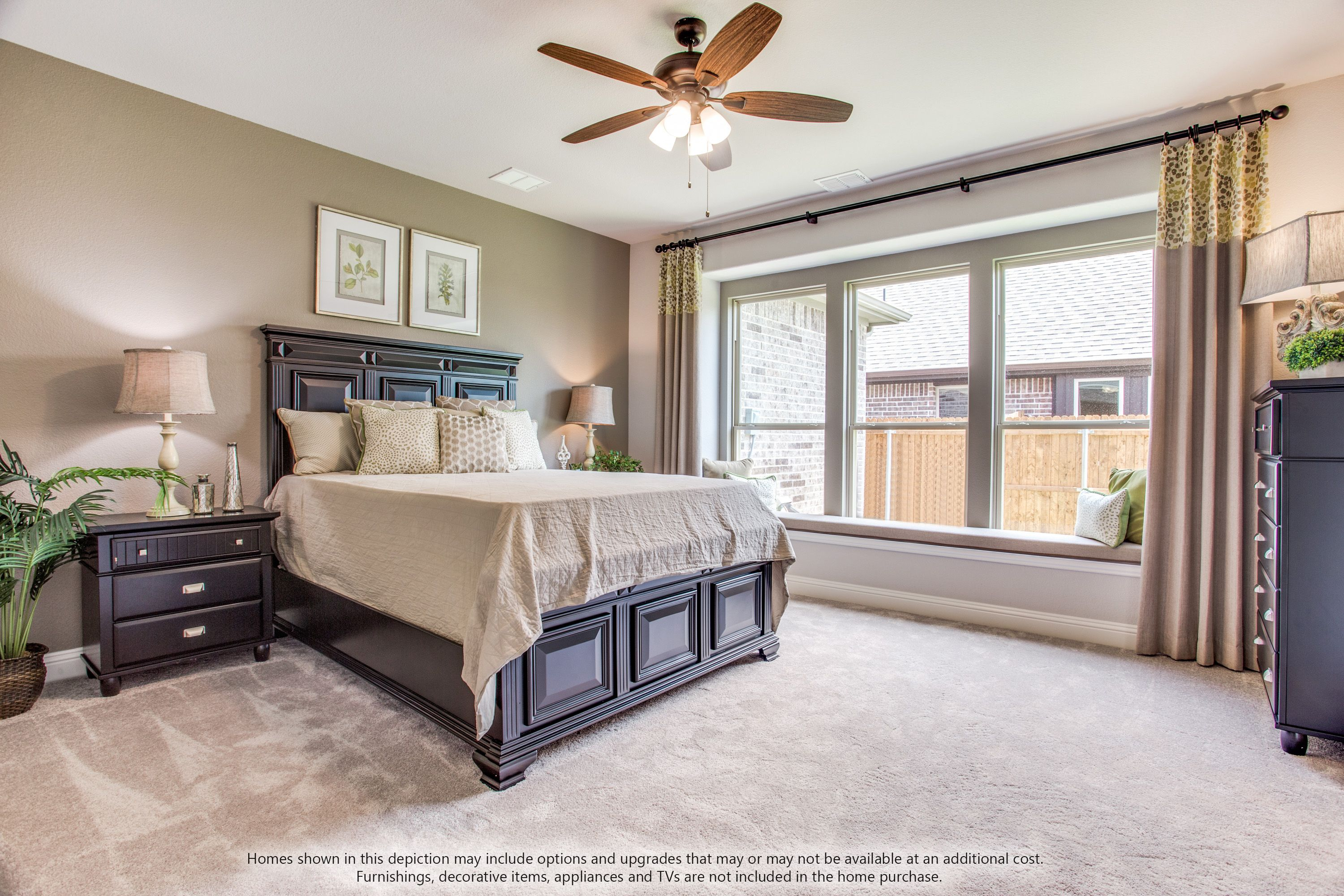 Bedroom featured in the Dewberry II Side Entry By Bloomfield Homes in Dallas, TX