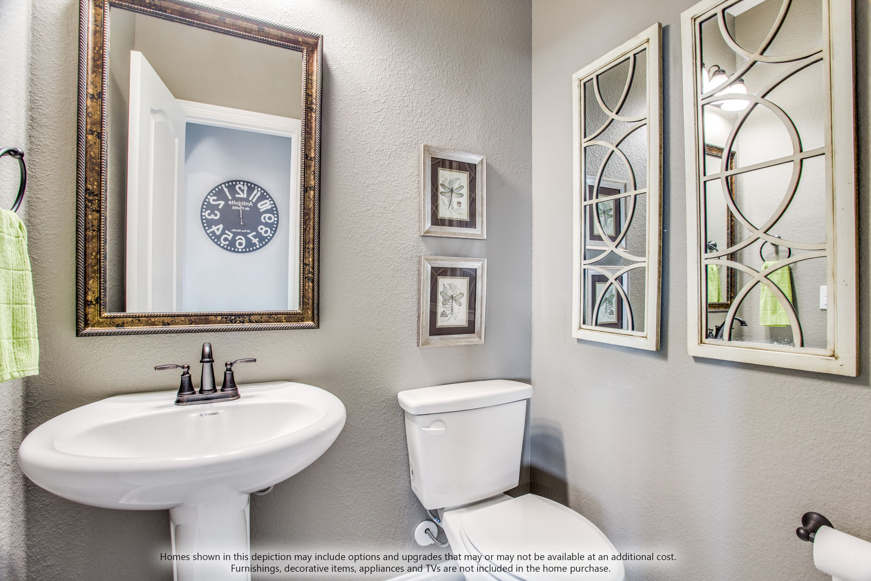 Bathroom featured in the Dewberry II Side Entry By Bloomfield Homes in Dallas, TX
