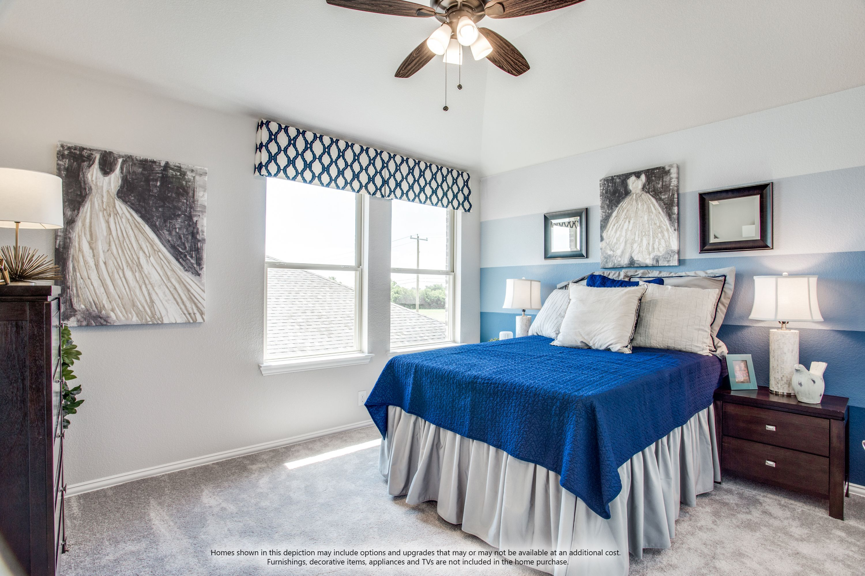 Bedroom featured in the Dogwood III Side Entry By Bloomfield Homes in Dallas, TX