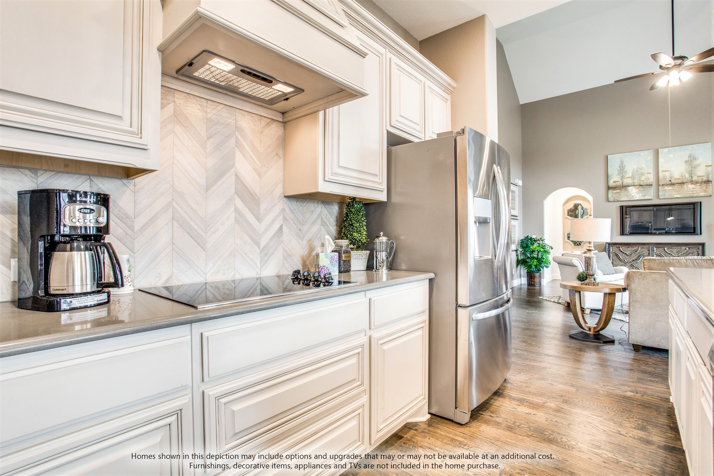 Kitchen featured in the Primrose III By Bloomfield Homes in Fort Worth, TX