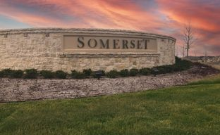 Somerset by Bloomfield Homes in Fort Worth Texas