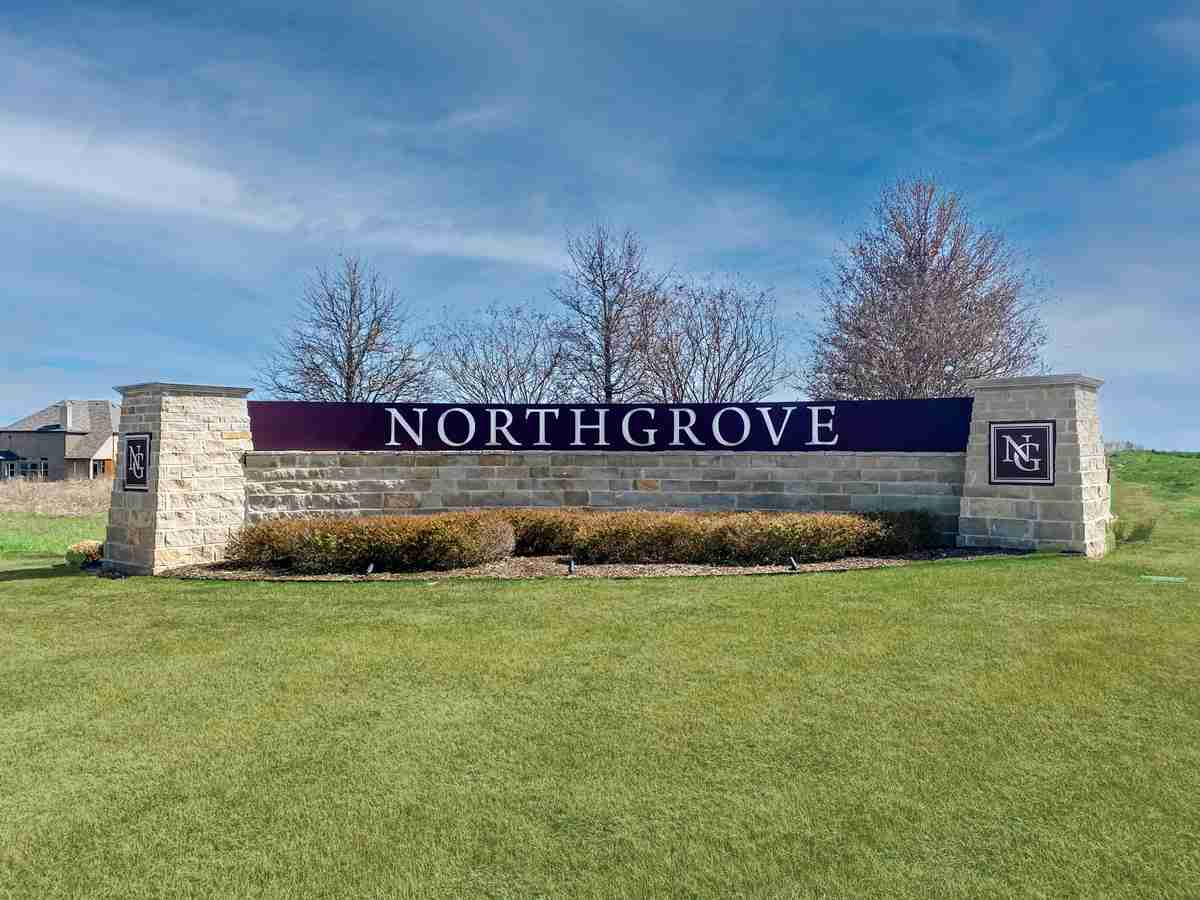 North Grove Sign