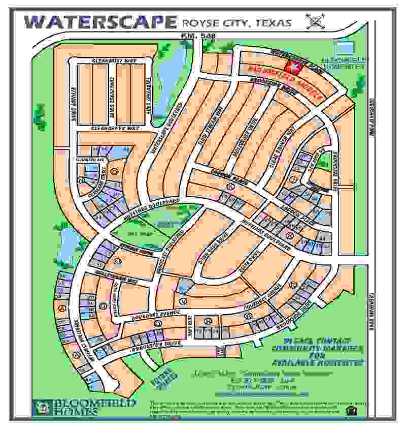 Waterscape Overall Community Map