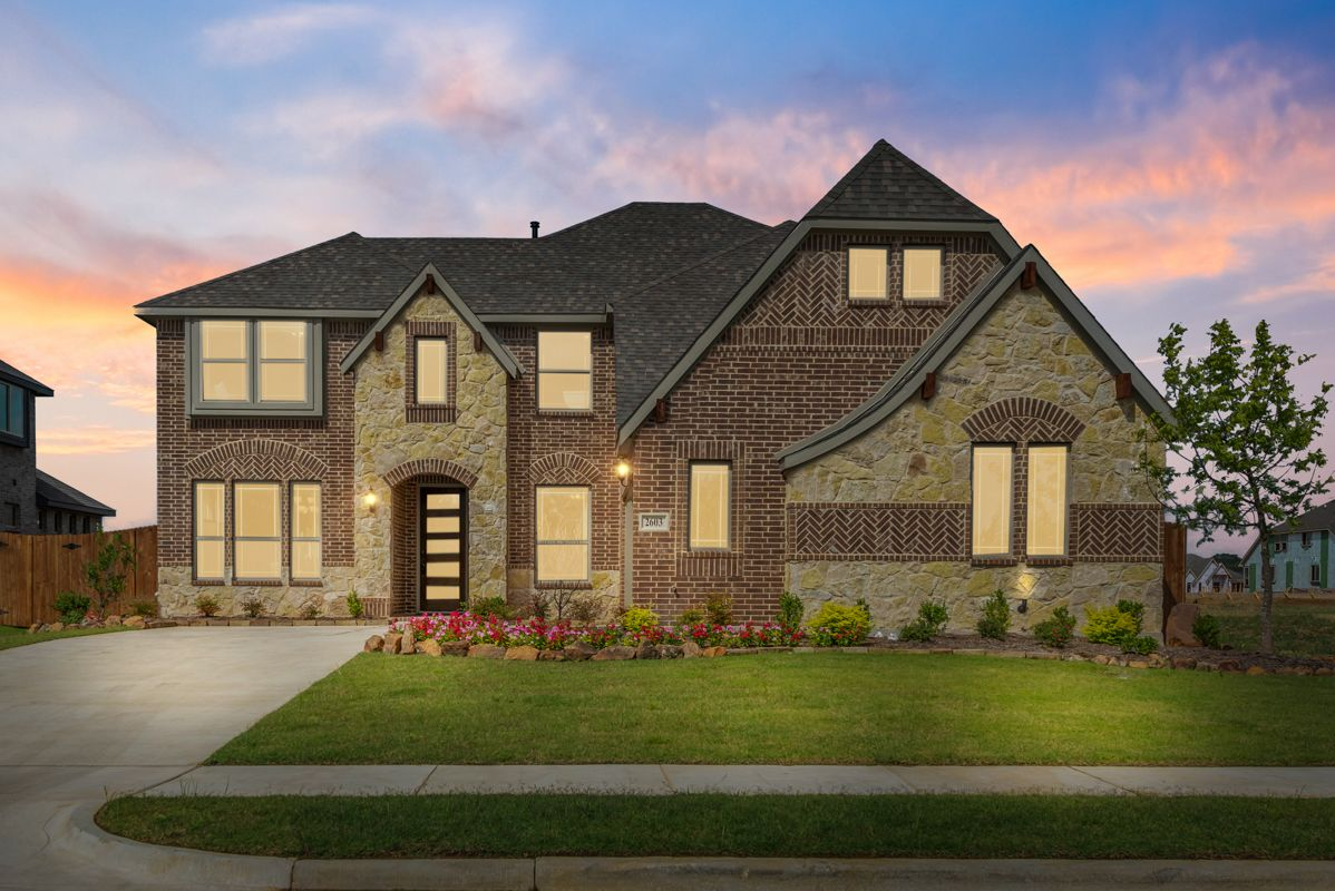 'Triple Diamond Ranch' by Bloomfield Homes  in Fort Worth