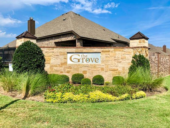 The Grove Entrance