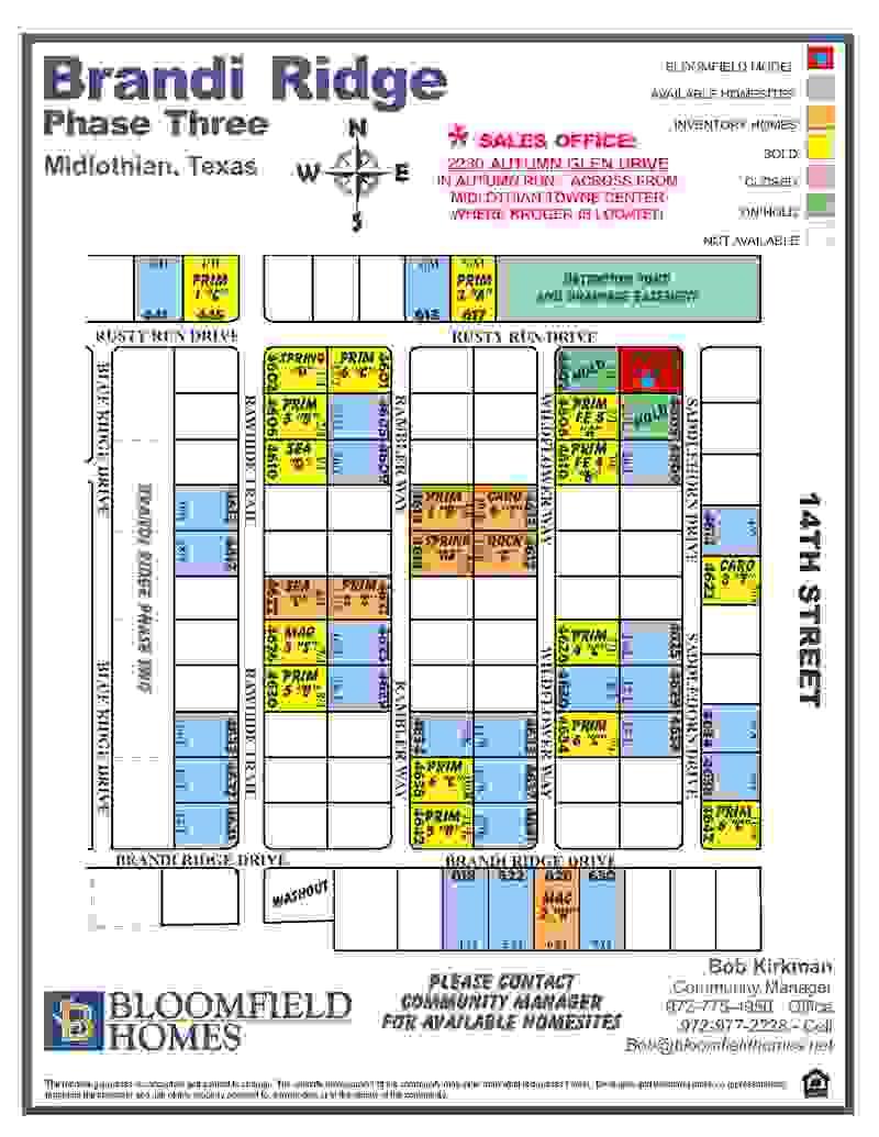 Brandi Ridge Community Map