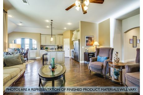 Greatroom-and-Dining-in-Carolina-at-Plantation & Oak Valley-in-Burleson