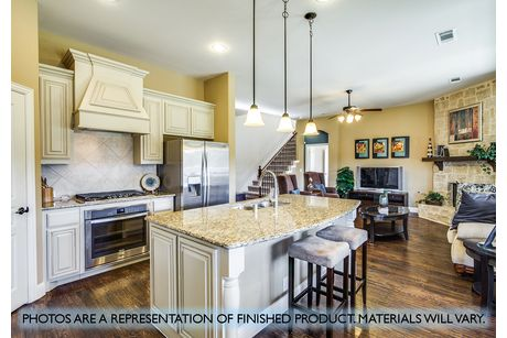 Kitchen-in-Carolina-at-West Crossing-in-Anna