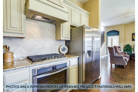 Kitchen-in-Carolina-at-Garden Valley-in-Waxahachie