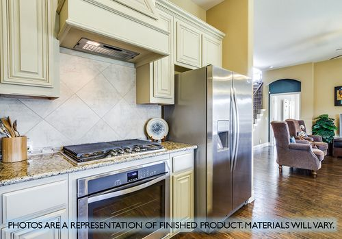 Kitchen-in-Carolina-at-North Grove-in-Waxahachie
