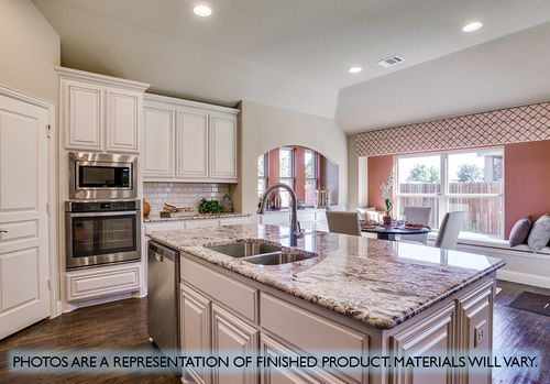 Kitchen-in-Carolina III-at-Hutson Oaks-in-Fort Worth