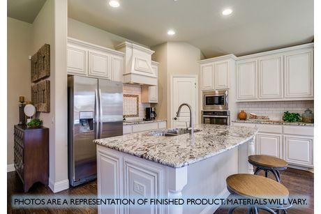 Kitchen-in-Carolina III-at-Garden Valley-in-Waxahachie