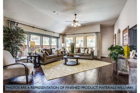 Greatroom-and-Dining-in-Cypress-at-Plantation & Oak Valley-in-Burleson