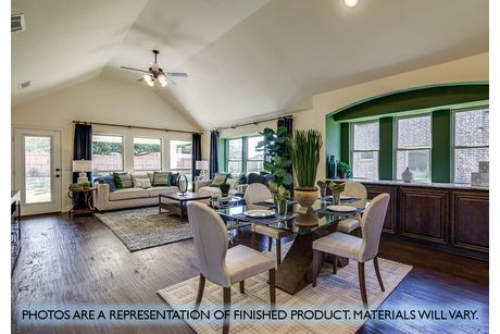 Greatroom-and-Dining-in-Hawthorne II-at-Plantation & Oak Valley-in-Burleson