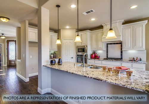 Kitchen-in-Magnolia II-at-West Crossing-in-Anna