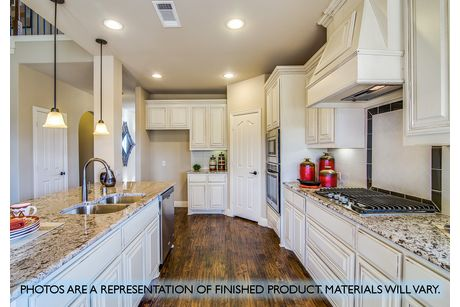 Kitchen-in-Magnolia II-at-Country Lakes-in-Argyle