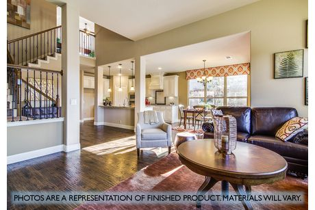 Greatroom-and-Dining-in-Magnolia II-at-Plantation & Oak Valley-in-Burleson