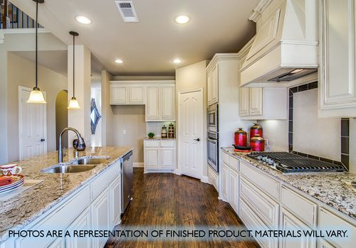 Kitchen-in-Magnolia III-at-West Crossing-in-Anna