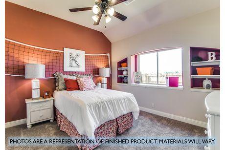 Bedroom-in-Primrose FE V-at-Plantation & Oak Valley-in-Burleson