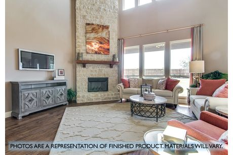 Greatroom-and-Dining-in-Primrose FE-at-Plantation & Oak Valley-in-Burleson