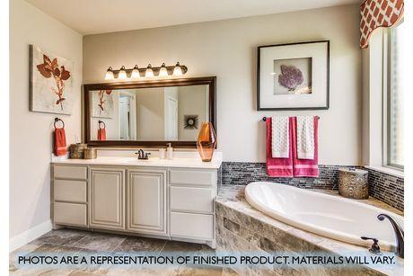 Bathroom-in-Primrose FE III-at-Plantation & Oak Valley-in-Burleson