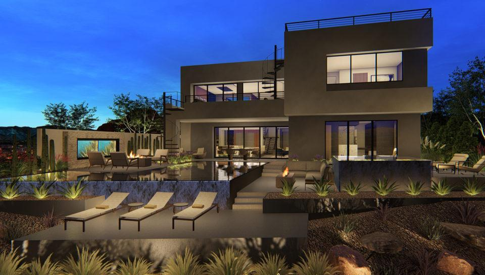 Exterior featured in the Reveal By Blue Heron in Las Vegas, NV