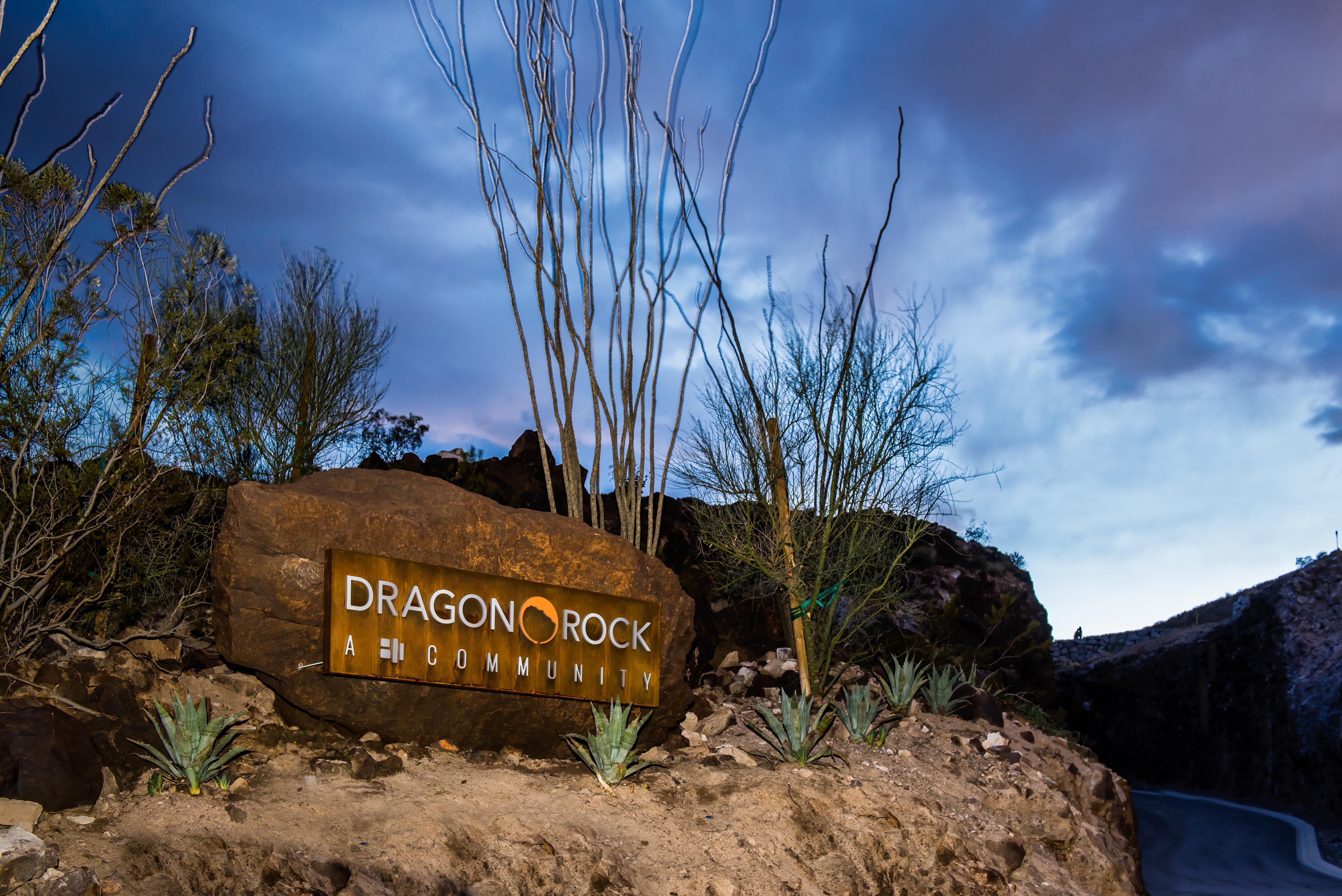 'Dragon Rock' by Blue Heron in Las Vegas