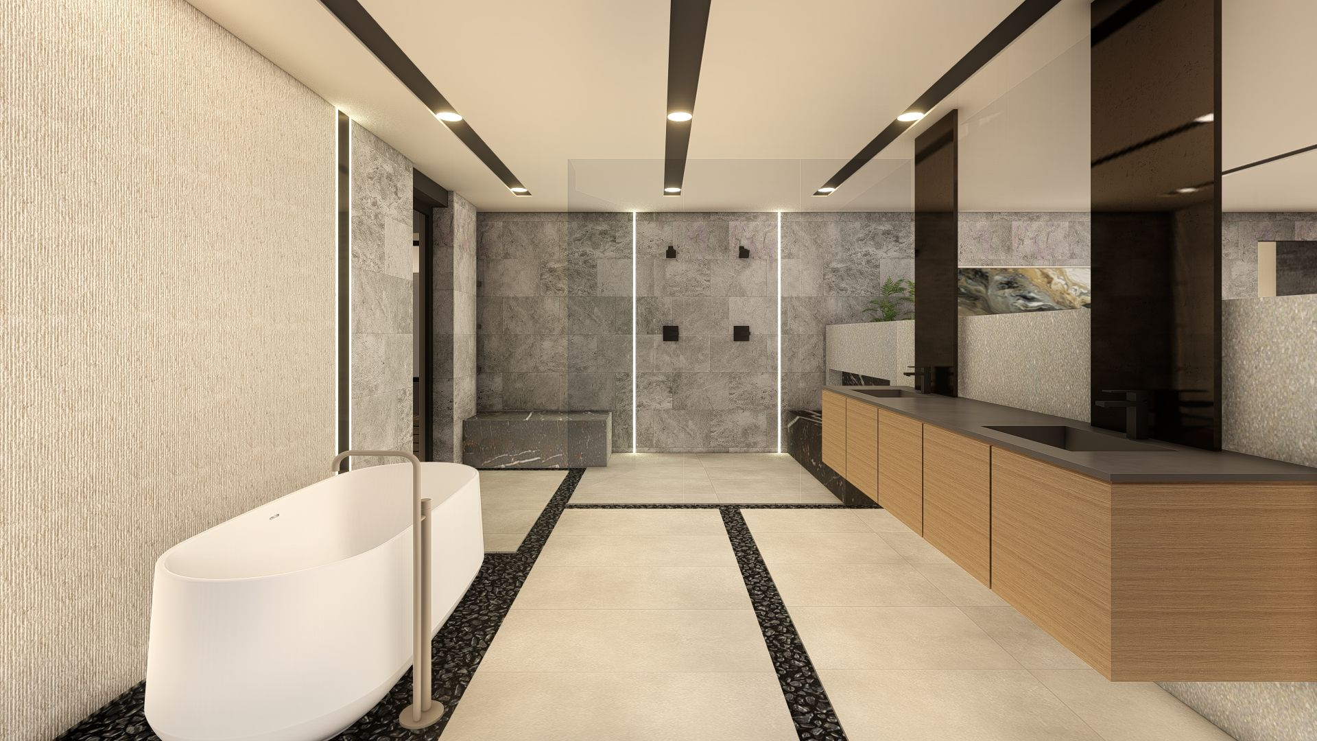 Bathroom featured in the Zenith By Blue Heron in Las Vegas, NV