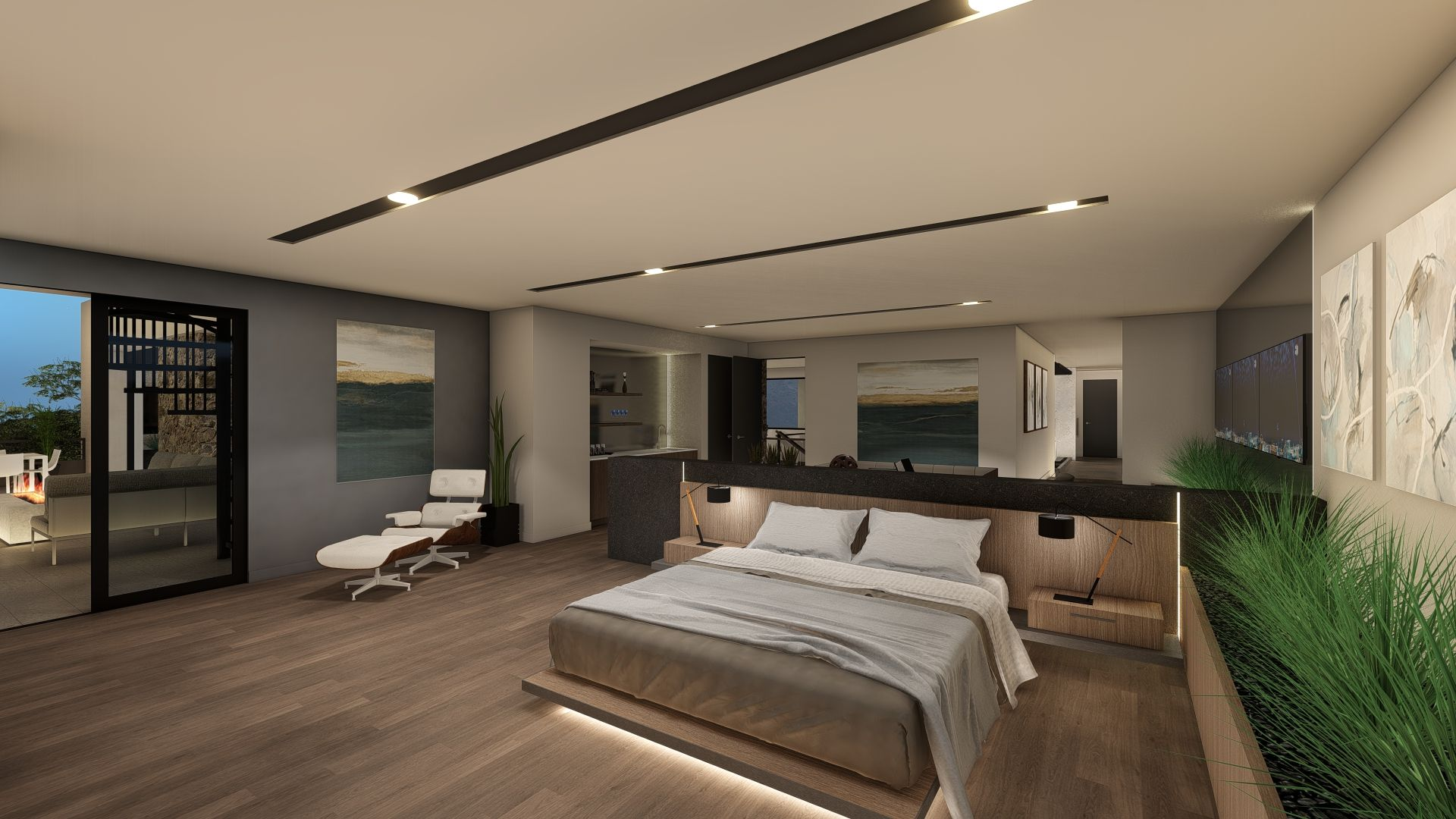 Bedroom featured in the Vision By Blue Heron in Las Vegas, NV