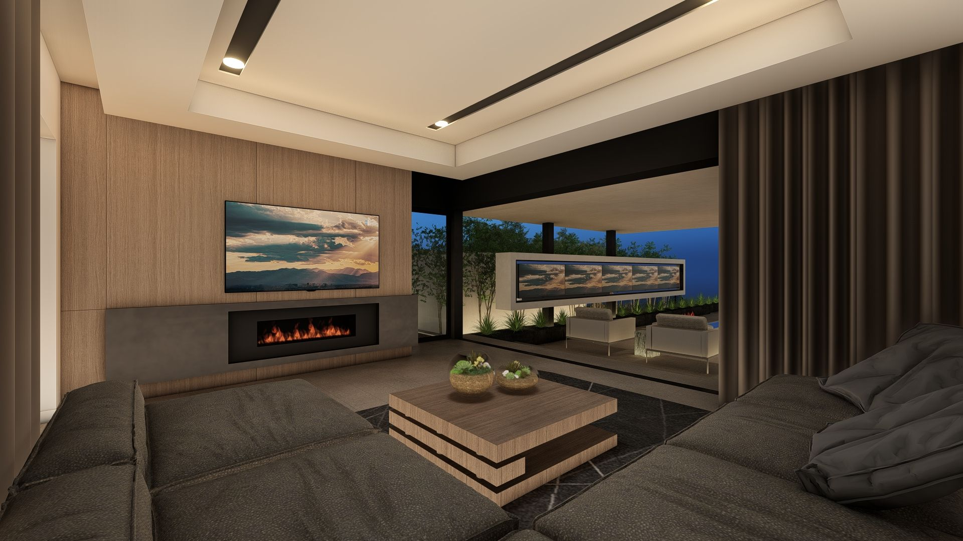 Living Area featured in the Vision By Blue Heron in Las Vegas, NV