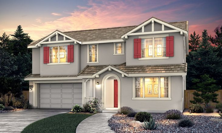 Plan 3:Craftsman Elevation