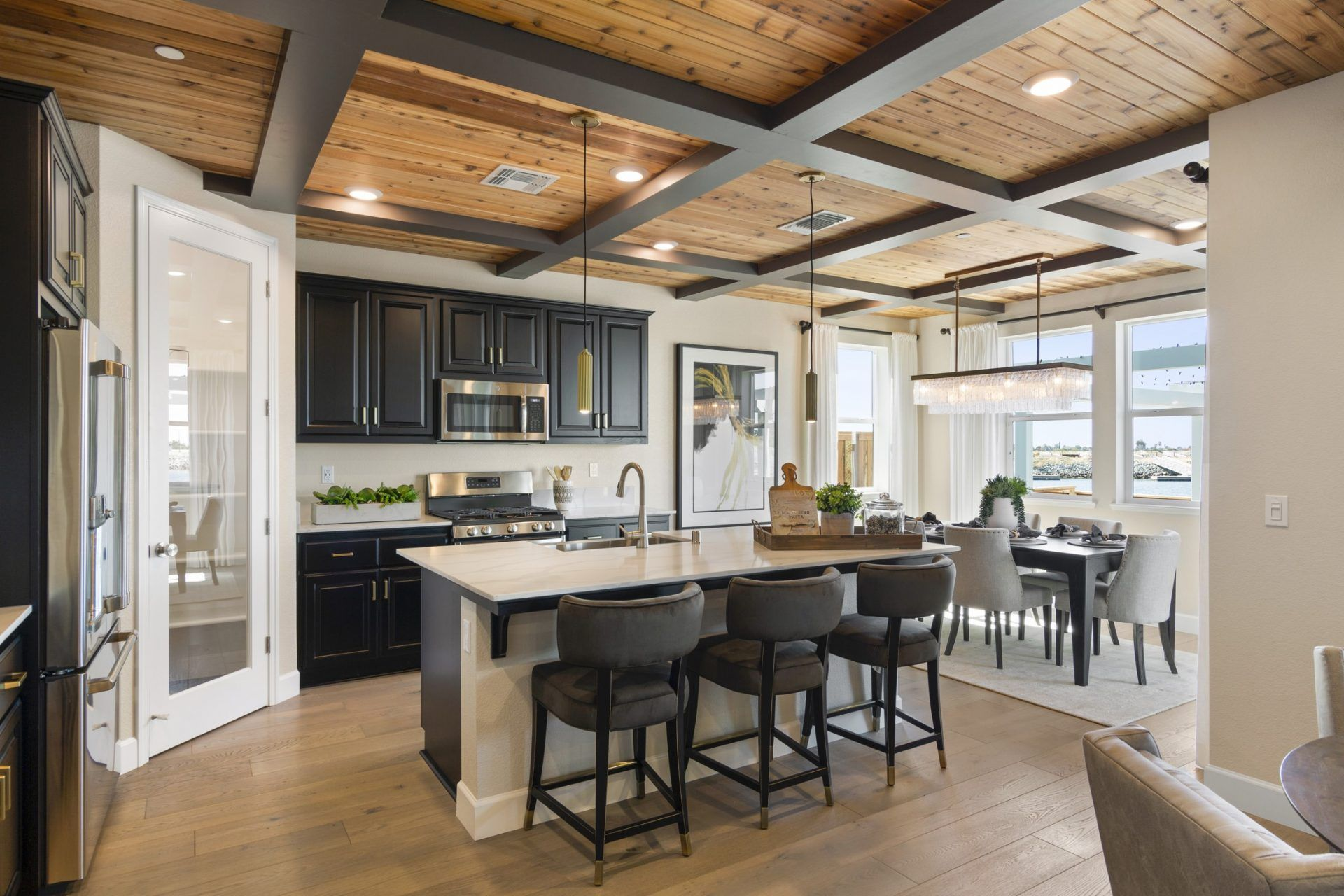 Kitchen featured in the Cyan By Blue Mountain Communities in Oakland-Alameda, CA