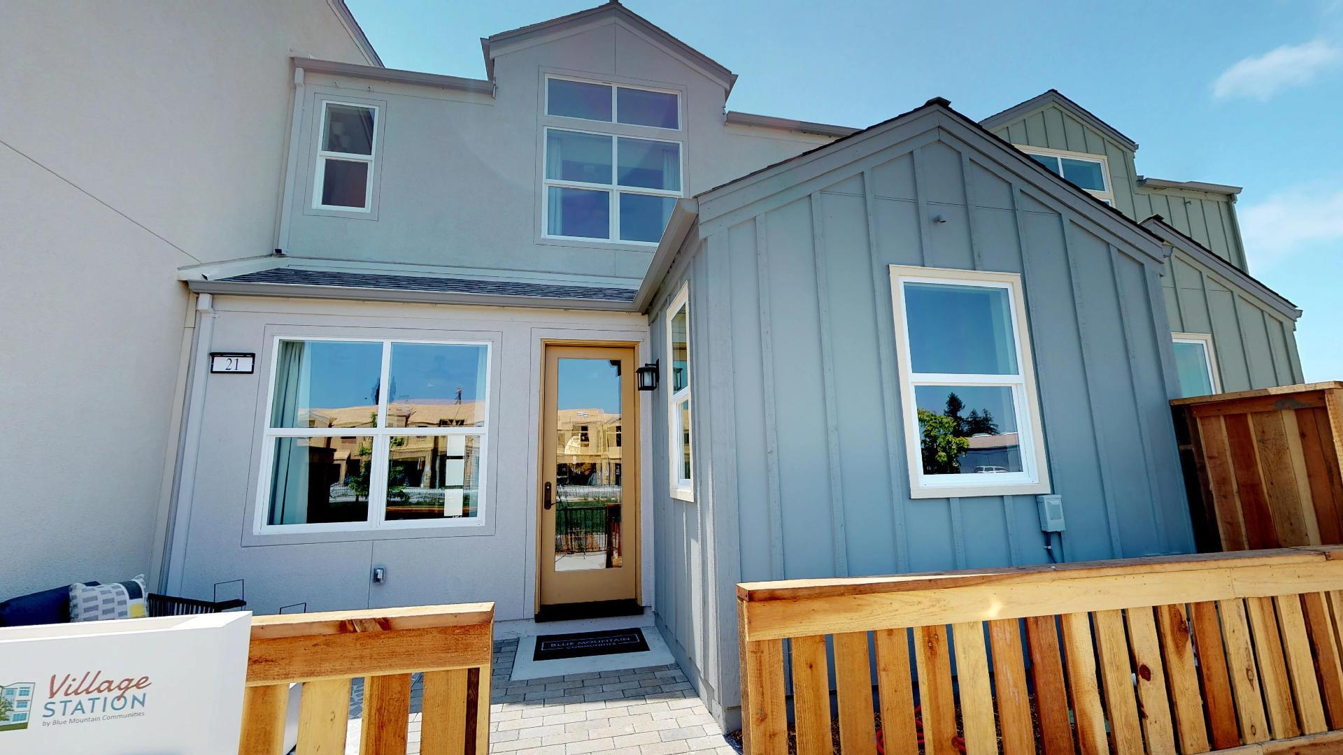 Exterior featured in the Plan A By Blue Mountain Communities in Santa Rosa, CA