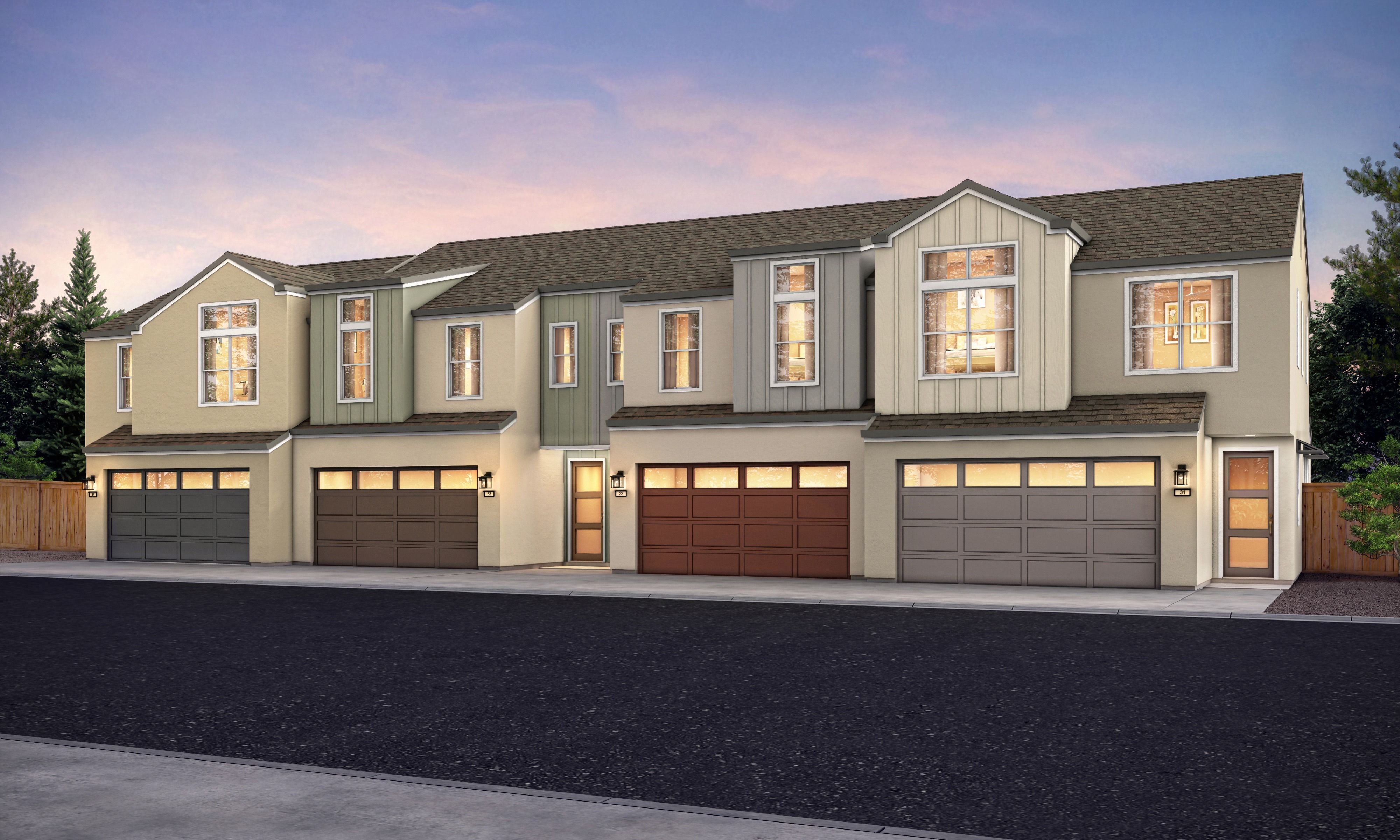 Exterior featured in the Plan B By Blue Mountain Communities in Santa Rosa, CA