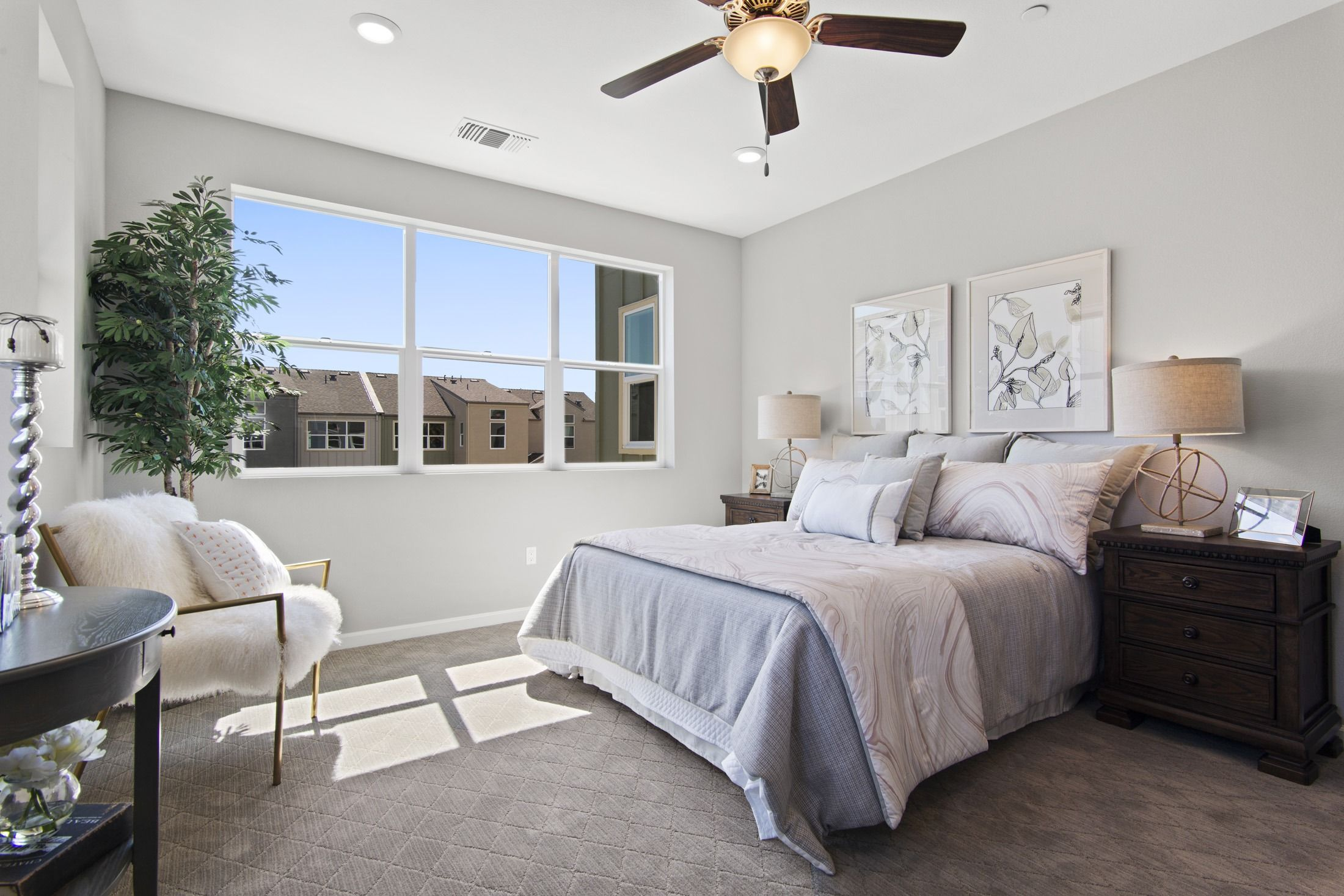 Bedroom featured in the Plan D By Blue Mountain Communities in Santa Rosa, CA