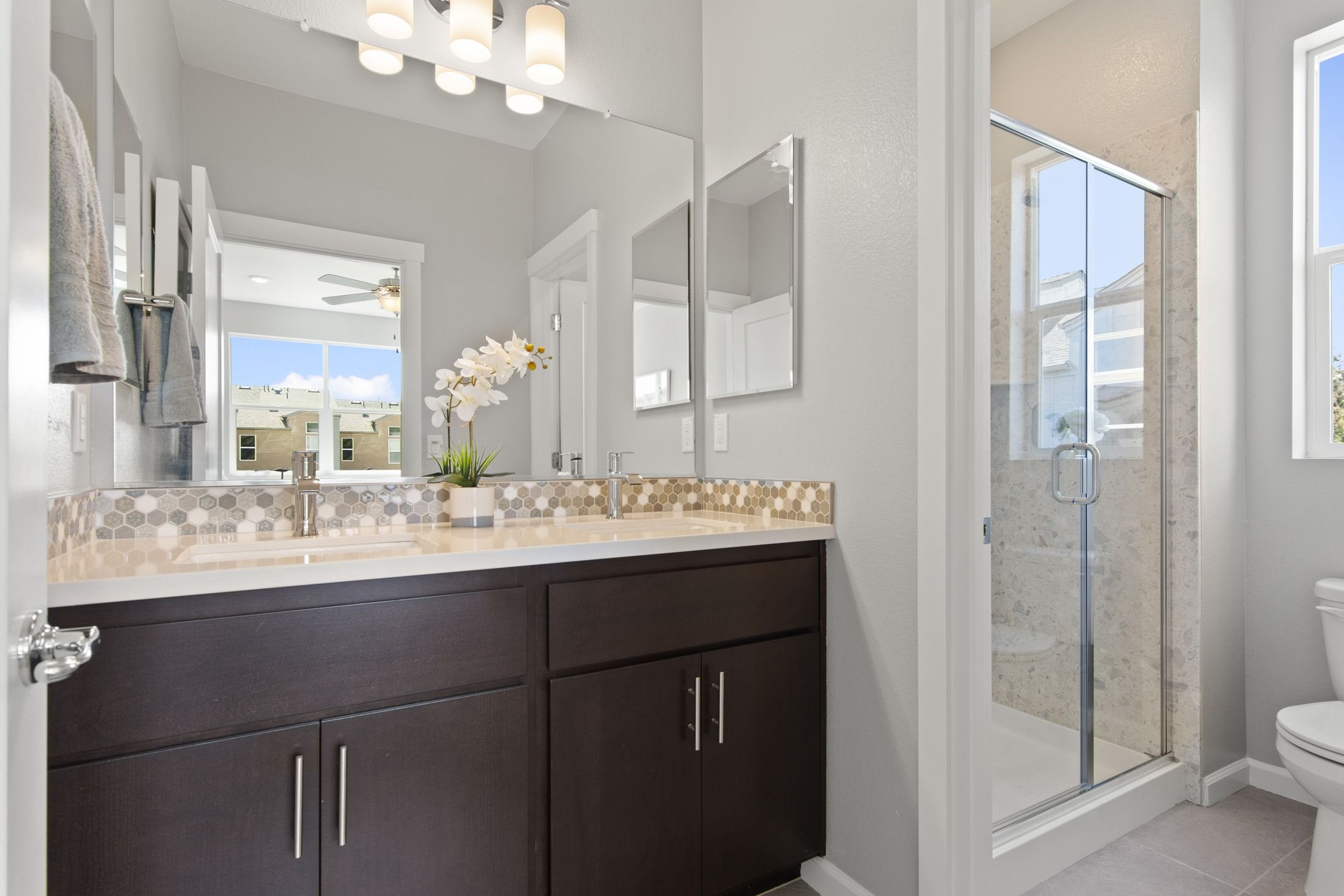 Bathroom featured in the Plan D By Blue Mountain Communities in Santa Rosa, CA