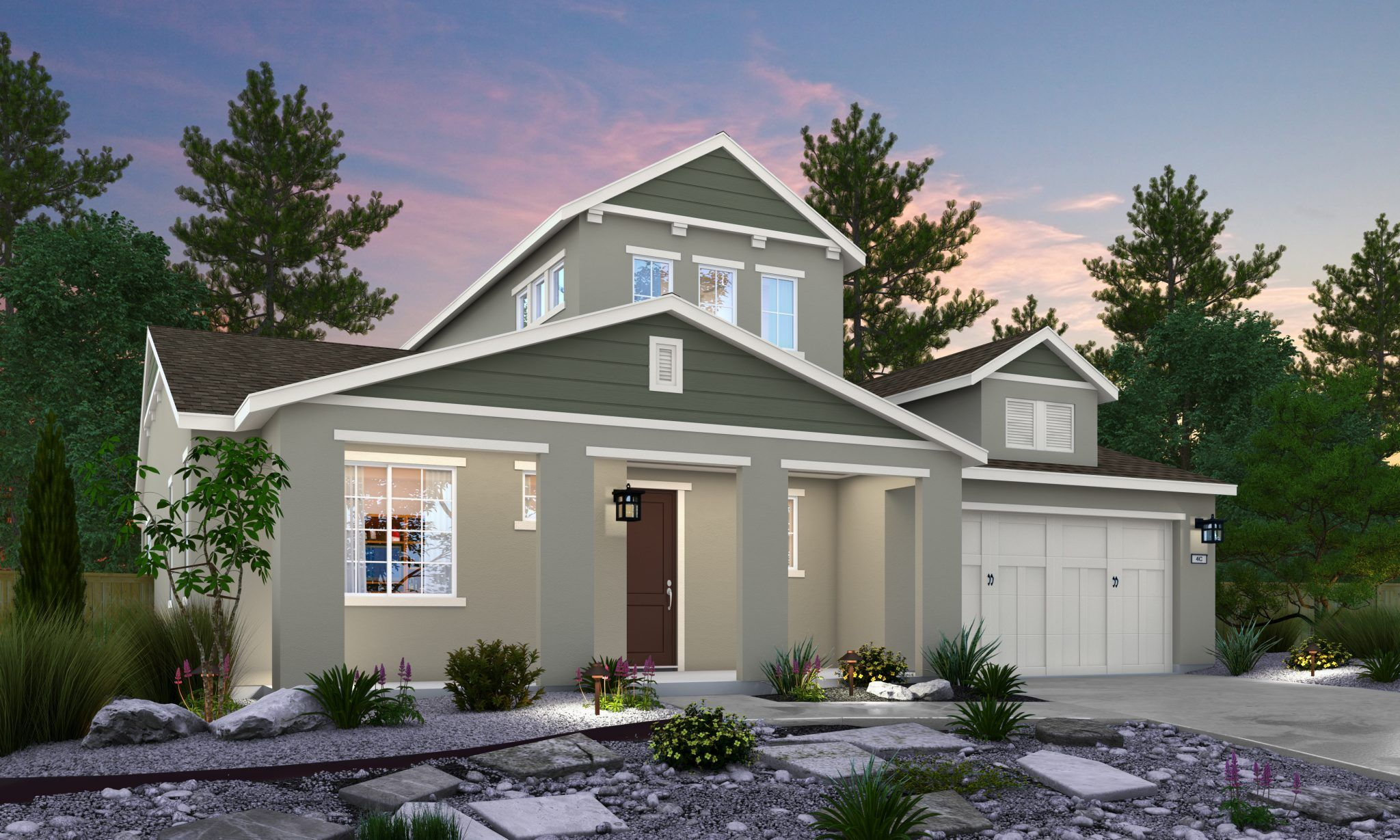 Exterior featured in the Royal By Blue Mountain Communities in Oakland-Alameda, CA