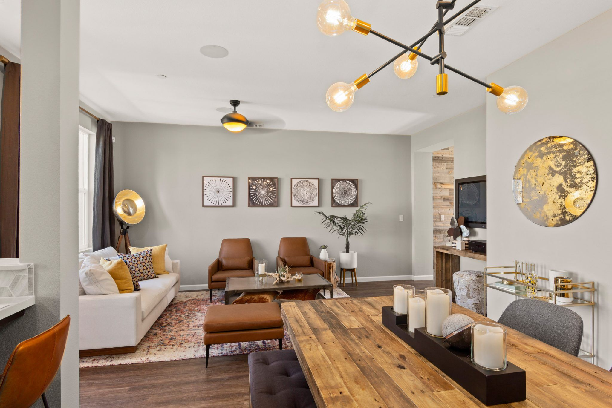 Living Area featured in the Plan A By Blue Mountain Communities in Santa Rosa, CA