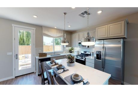 Kitchen-in-Plan 2-at-The Cottages-in-Hollister