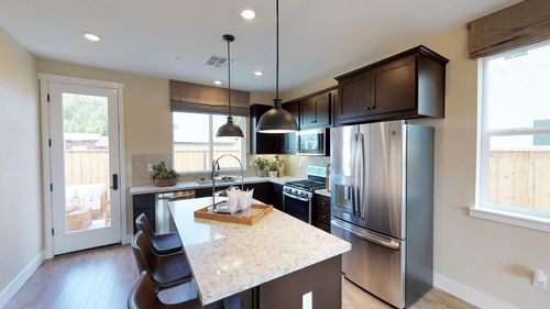 Kitchen-in-Plan 3-at-The Cottages-in-Hollister
